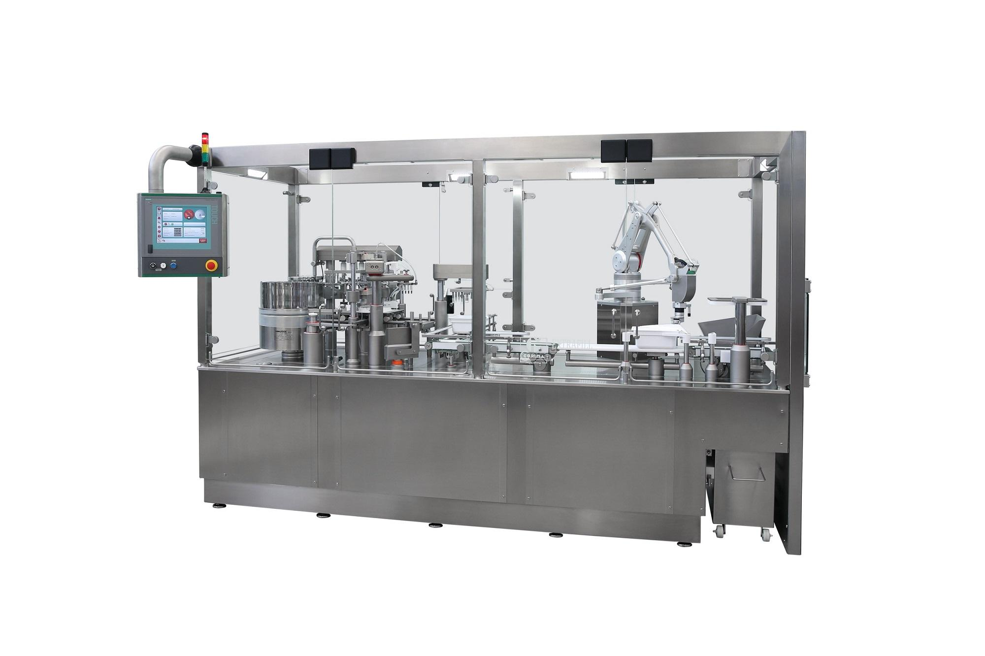 PHARMTECH 2019: THE MARCHESINI GROUP SHOWS THREE STAND-ALONE MACHINES